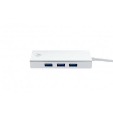 HUB 4 ports USB-C Haute vitesse 3.0
