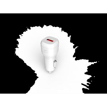Chargeur de voiture 1 USB Charge rapide USB 3.0