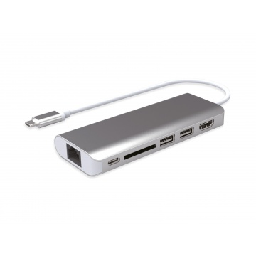 Docking Station USB-C 6 ports