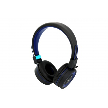 Casque Bluetooth POP R-MUSIC Noir / Bleu