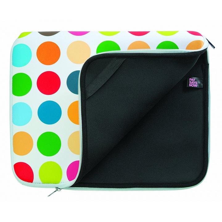 """Pat Says Now 7724 Housse en néoprène pour iPad et tablettes 7""""-9"""" Polka Dot"""