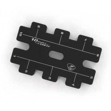 HUB 10 Ports USB 2.0 + Alimentation secteur