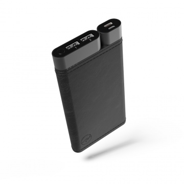 Powerbank USB-C 10'000 Mah Finition Cuir