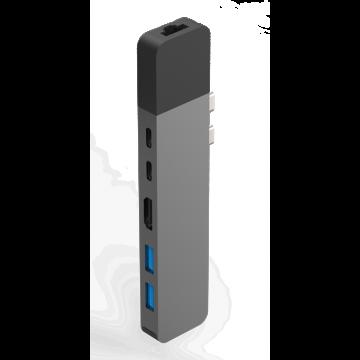 HyperDrive NET 6-in-2 Hub for USB-C MacBook Pro