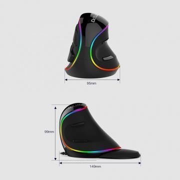 Souris ERGO verticale M618-PLUS RGB