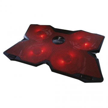 Berserker gaming NIFLHEIM-4F-RED Support ventilé pour ordinateur portable