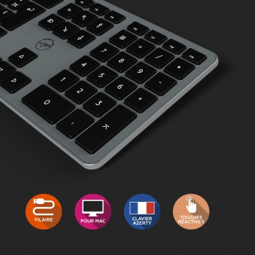 Clavier Design Touch For Mac-Wired