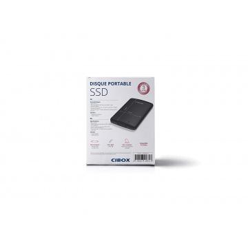 SSD 120 Go Disque Dur Externe CIBOX