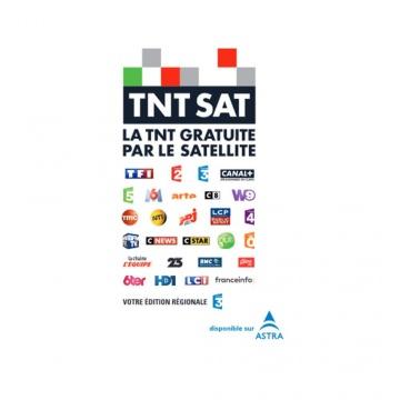 THOMSON THS804 Décodeur + Carte TNTSAT Canal Plus Ready, terminal de réception HD avec lecteur de carte Viaccess