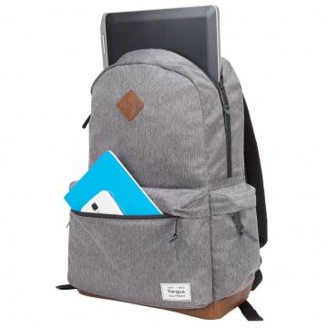 """TARGUS Strata Sac à dos pour ordinateur portable 15,6"""" - Gris"""