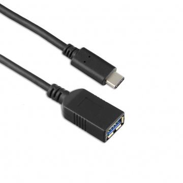 TARGUS Câble USB-C vers USB-A(f) 5 Gbit/s, 3A, 15 cm - Noir