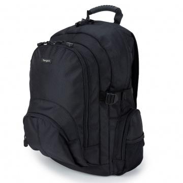 """TARGUS Classic XL Sac à dos pour ordinateur portable de 15.6"""" - Noir"""