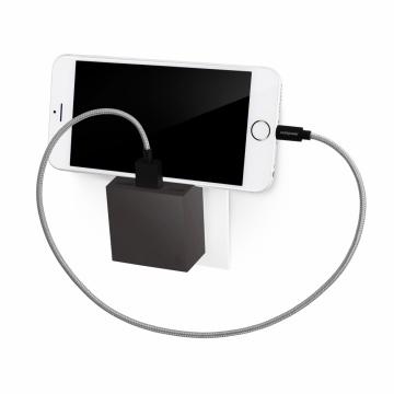 HIDE MINI Chargeur  3 EN 1, 3 PORTS USB ET SUPPORT DE TÉLÉPHONE