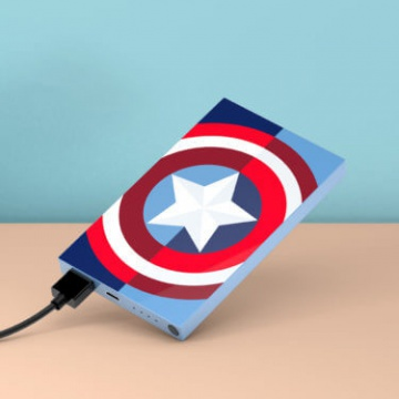 Tribe Captain America 4000mAh Power Bank
