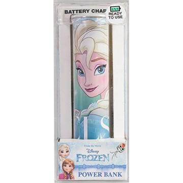 Tribe Disney Frozen Batterie de secours pour Smartphone 2600 mAh Motif Elsa