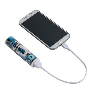 Tribe Disney Star Wars Batterie Externe de secours Universal Smartphone Chargeur 2600 mAh - R2D2