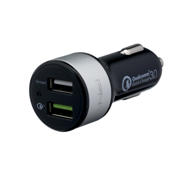 PNY Quick Charge 3.0 Car Charger 2XUSB
