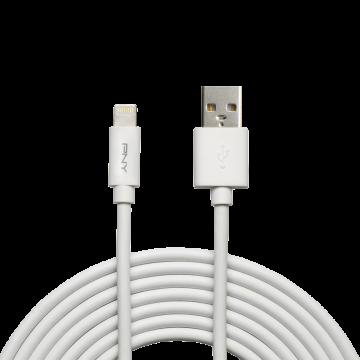 PNY Câble Lightning 3M MFI BLANC