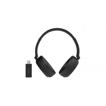 R-MUSIC Casque TV sans fil avec transmetteur USB