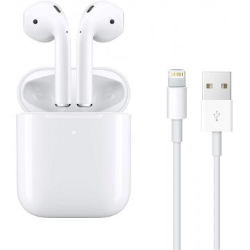 Apple AirPods avec boîtier de Charge sans Fil